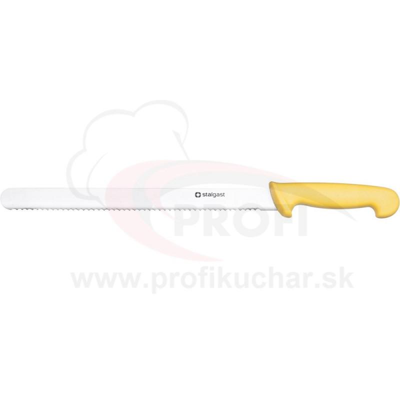 HACCP-Nôz, žltý, zúbkovaný, 30cm