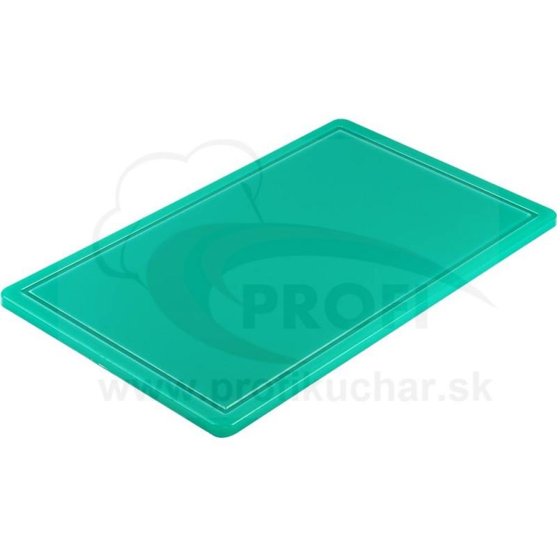 Doska na krájanie STALGAST® GN 1/1 zelená