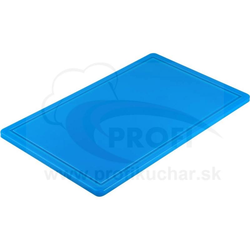 Doska na krájanie STALGAST® GN 1/1 modrá