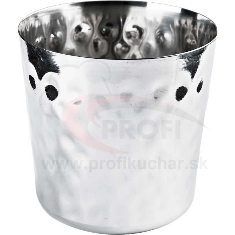 Misky na hranolky, tyčinky a pod. 0,4l - povrch s tepaným kladivovým efektom