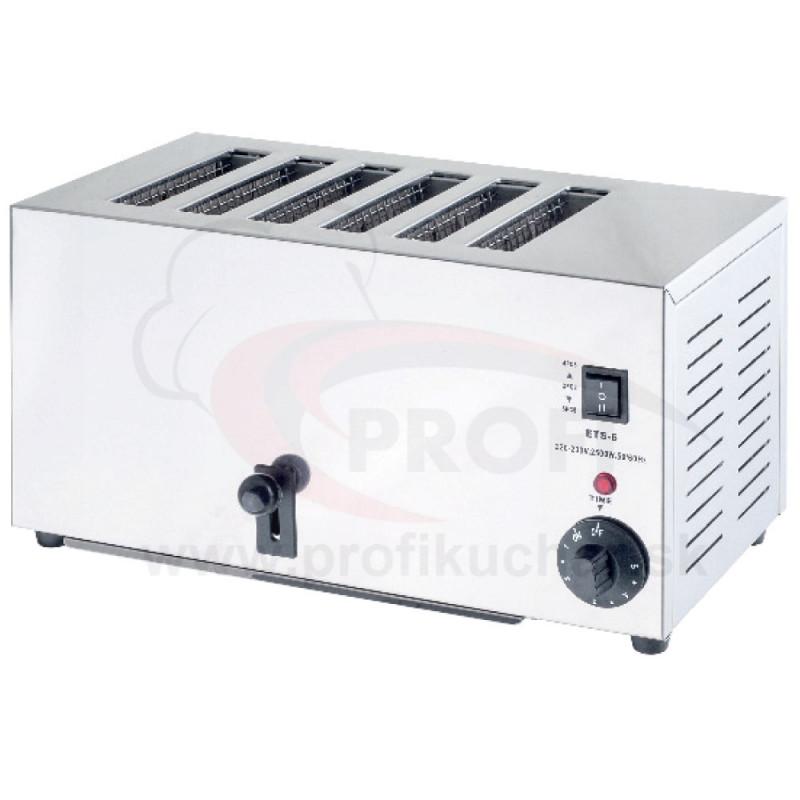 Toaster 6 komorový