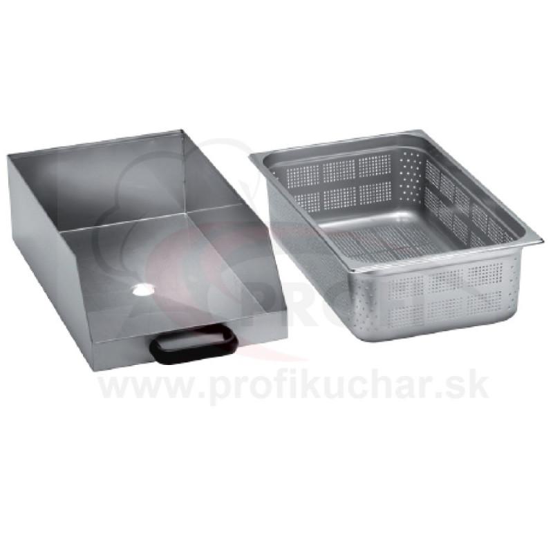 Separátor odpadu pre škrabku na zemiaky