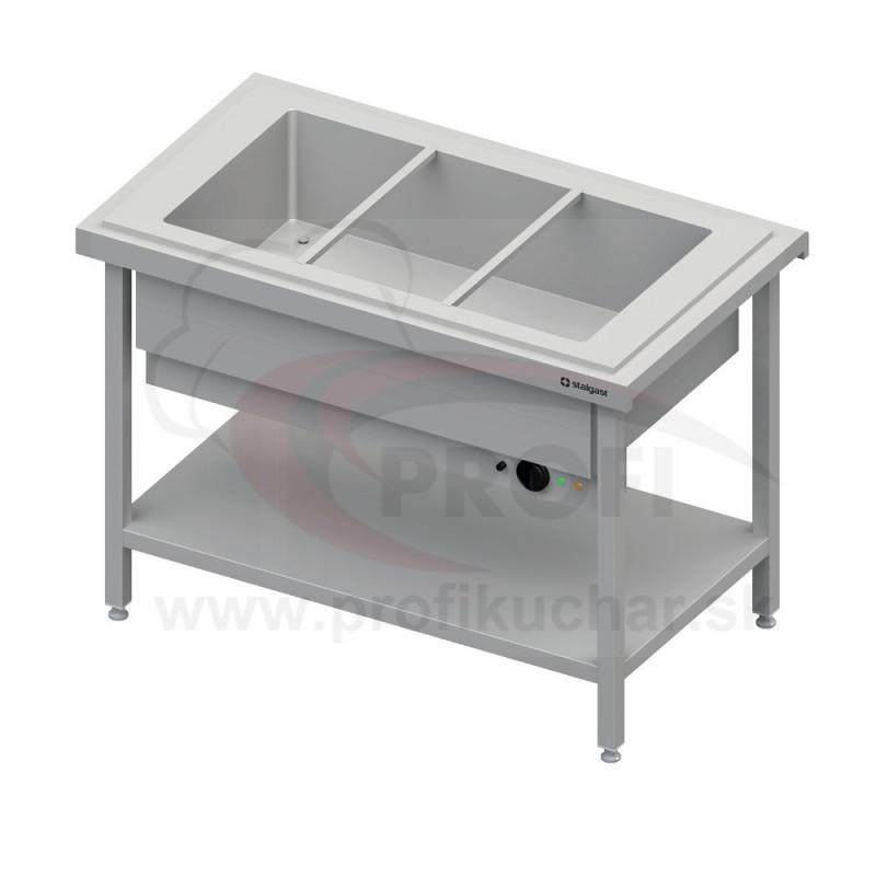 Ohrevný výdajný stol na 3x GN1/1