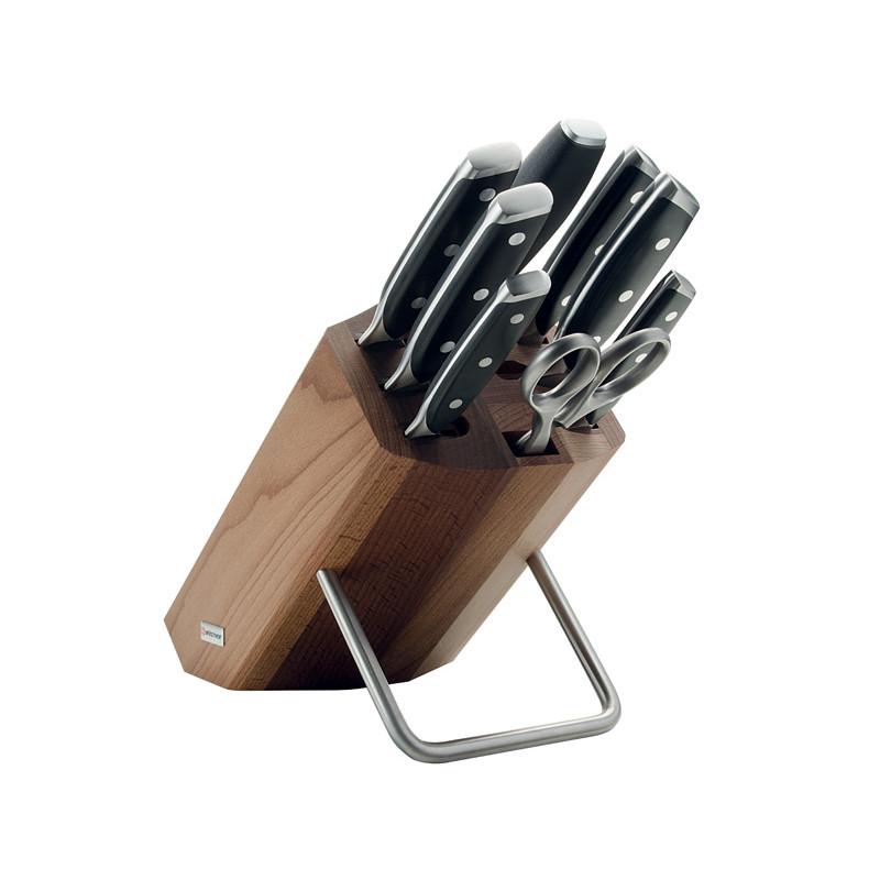 Wüsthof XLINE Blok s noži - 8 dílů 9870