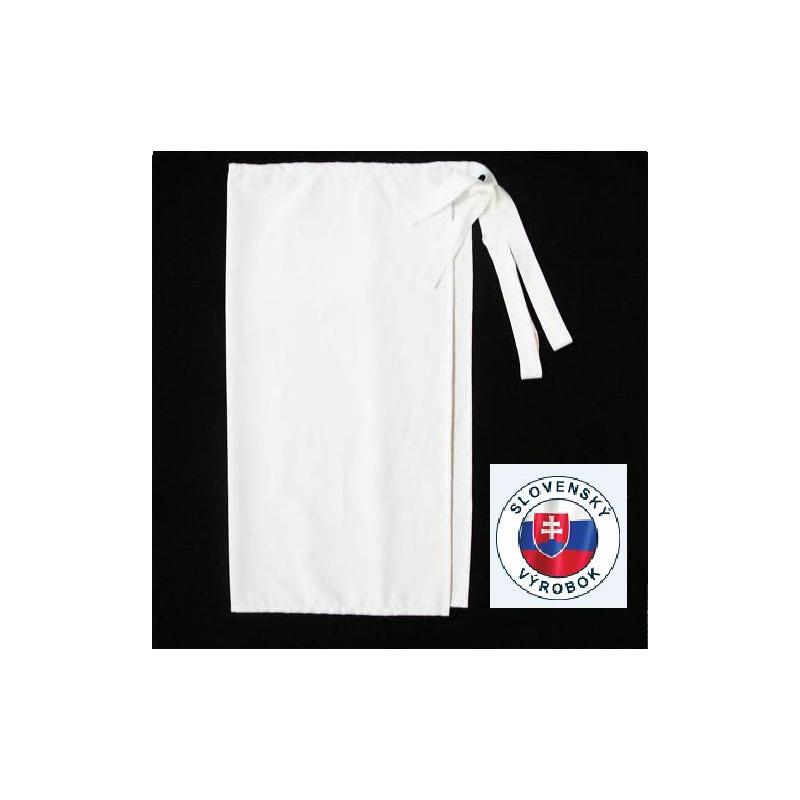 Kuchařská zástěra nízká, s kapsou 100% bavlna - různé barvy