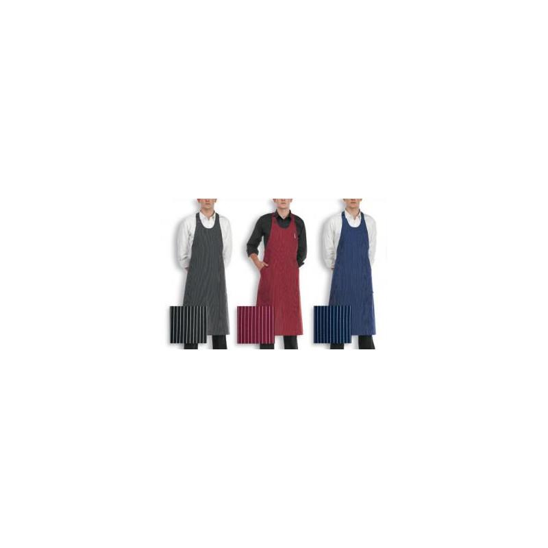 Barmanská zástěra vysoká - různé barvy / vzory