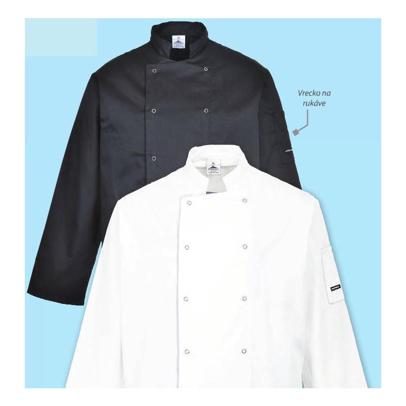 Kuchařský rondon Suffolk - bílý
