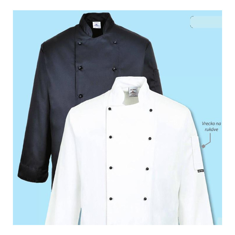 Kuchařský rondon Somerset - černý