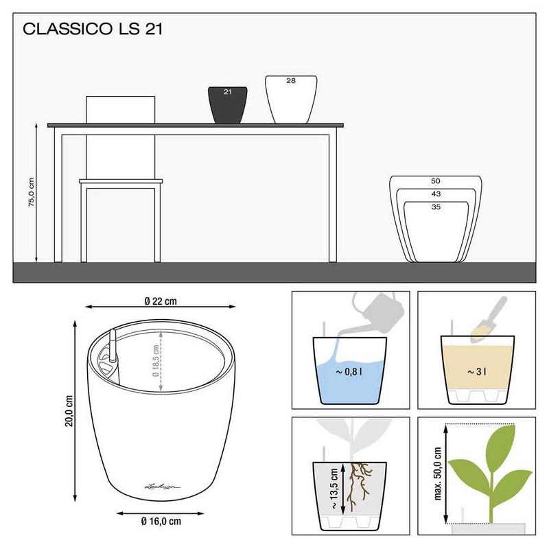 Classico LS 21/20 All inclusive set antracit