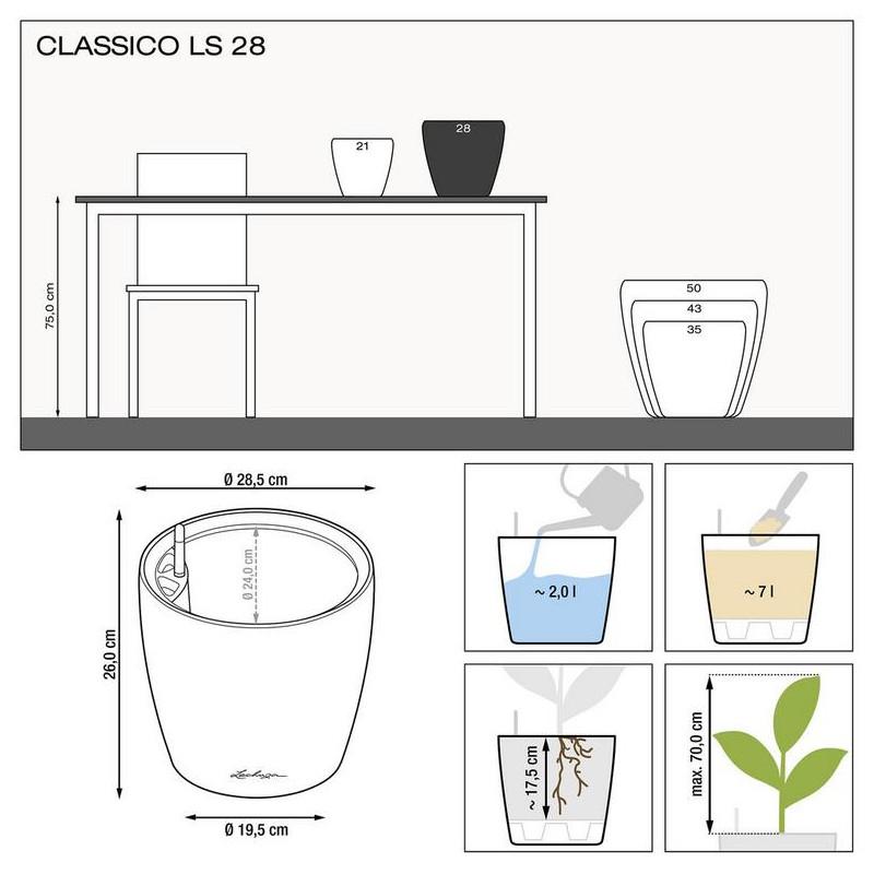Classico LS 28x26 All inclusive set black