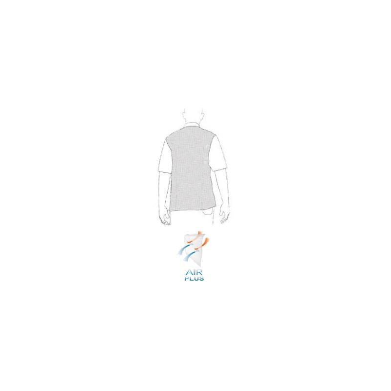 Kuchárska košeľa s krátkym rukávom COOL - čierna