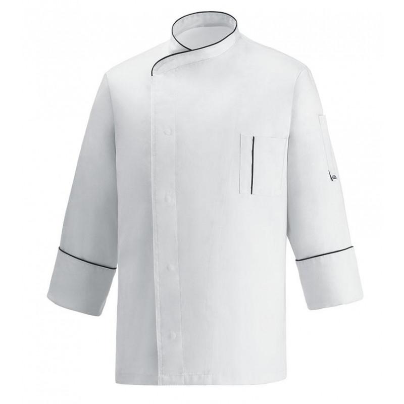 Kuchařský rondon CESARE cool vent - bílý