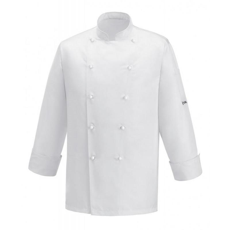 Kuchařský rondon WHITE ICE - bílý
