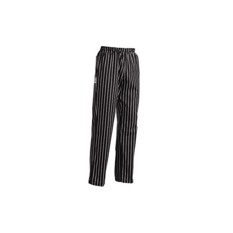 Kuchárske nohavice AMERICA - široké pásy, 100% bavlna