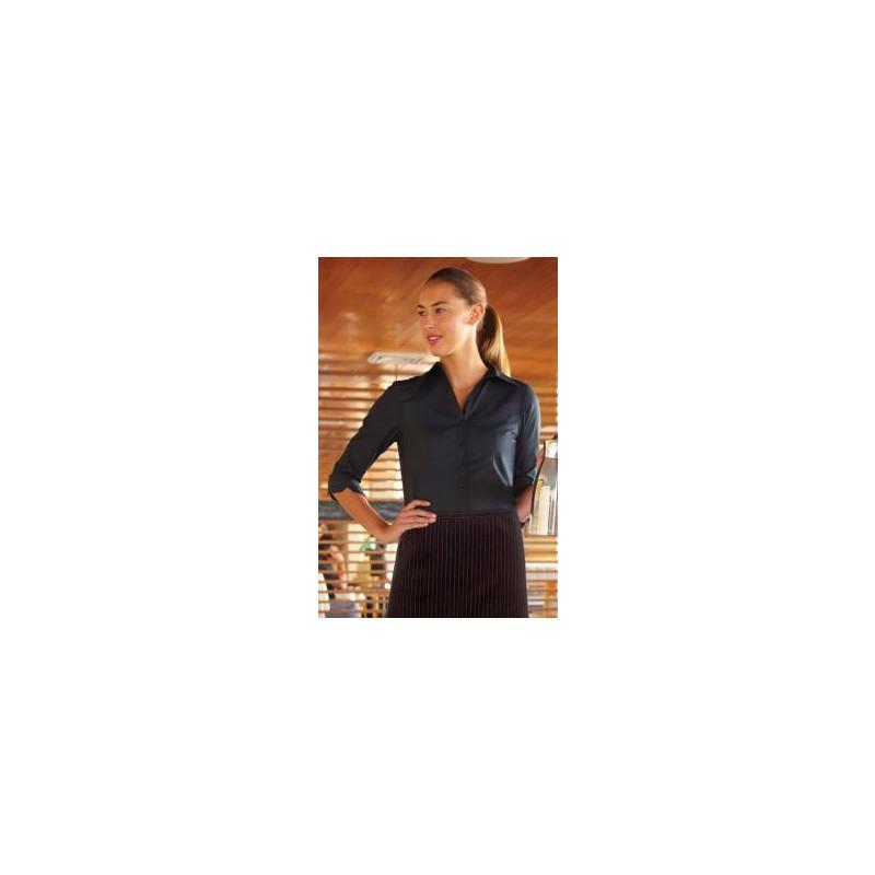 Exkluzivní číšnická dámská halenka - 2 barvy