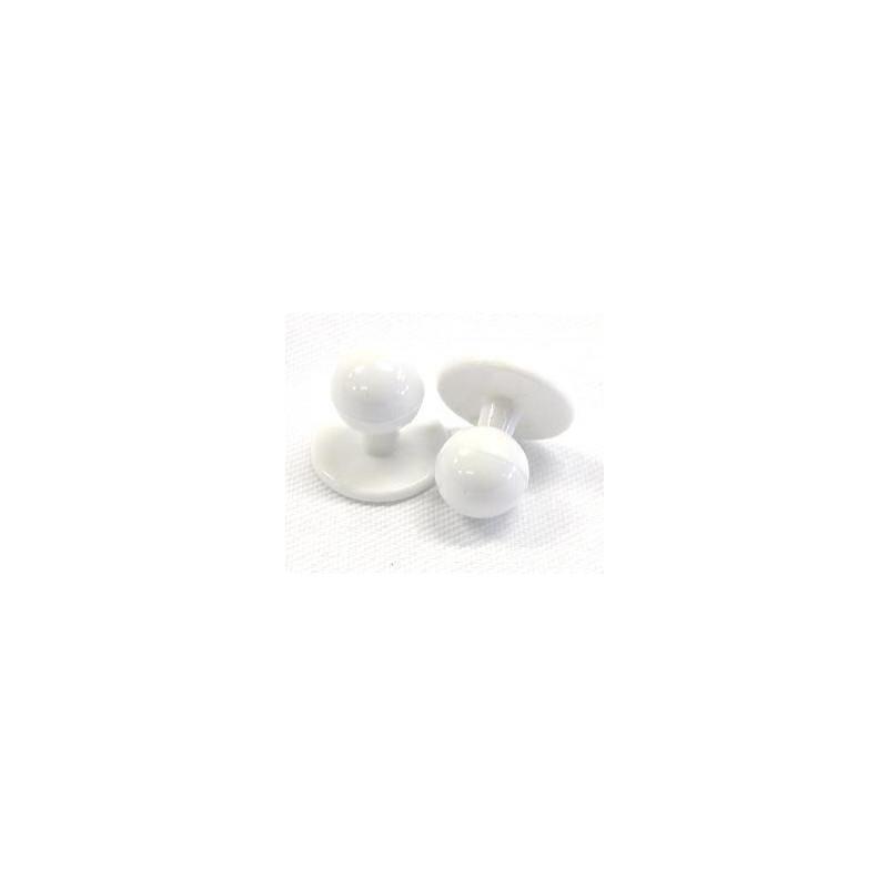 Knoflíky do rondonu bílé