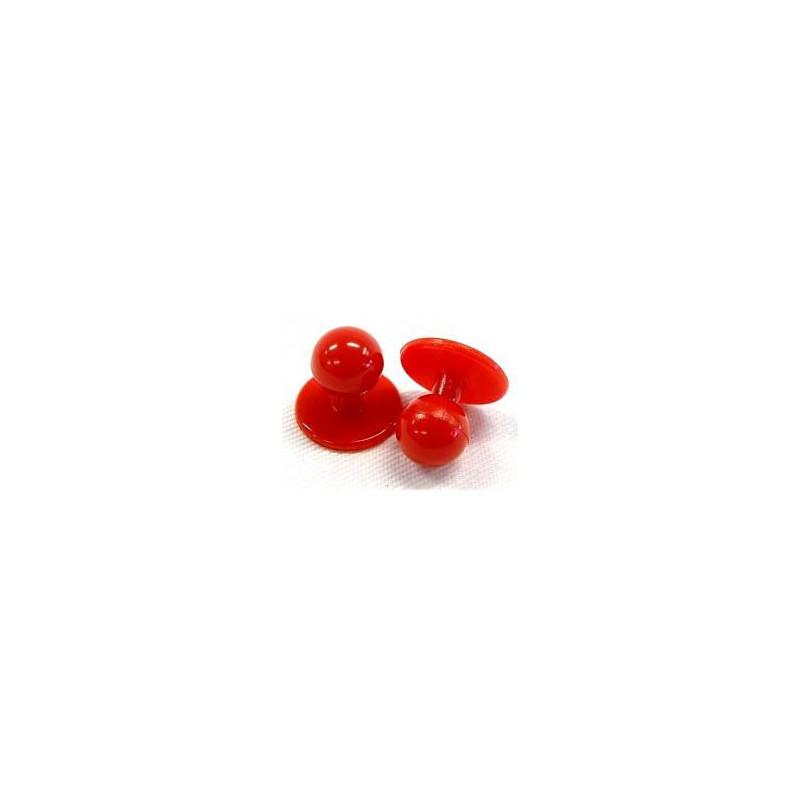Knoflíky do rondonu červené