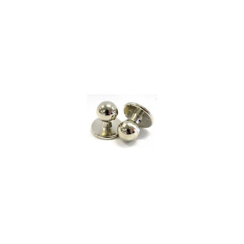 Knoflíky do rondonu stříbrné