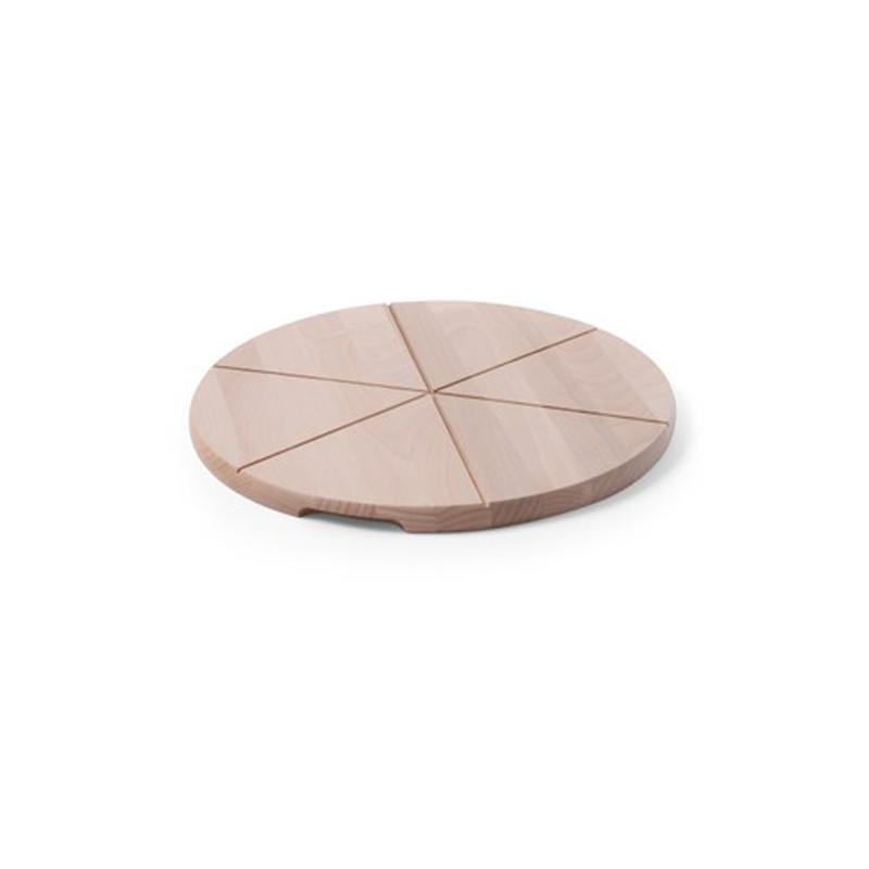 Drevený pizza podnos - pr. 30 cm