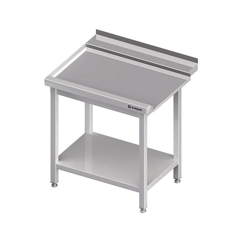 Výstupný stôl k priebežnej umývačke STALGAST – LAVÝ 1400mm