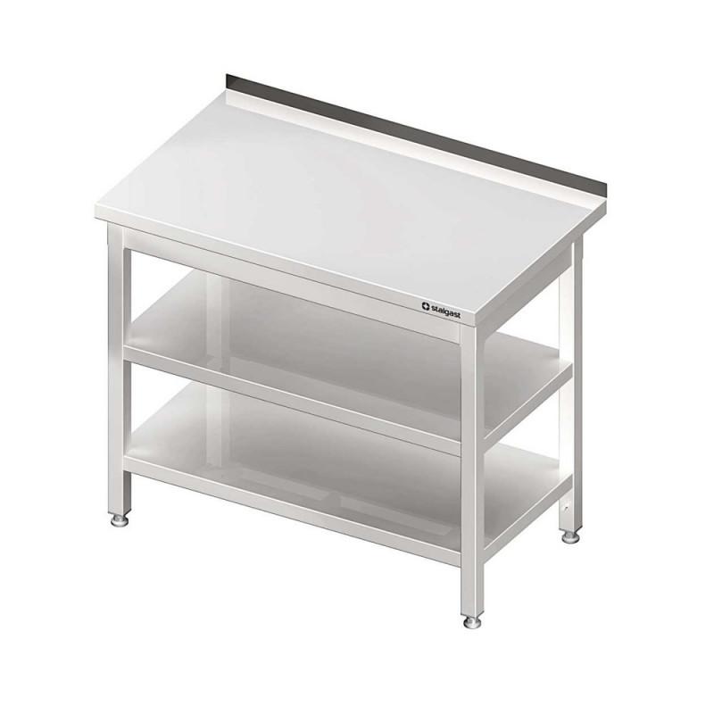 Pracovný stôl s dvoma policami 1600x600x850mm