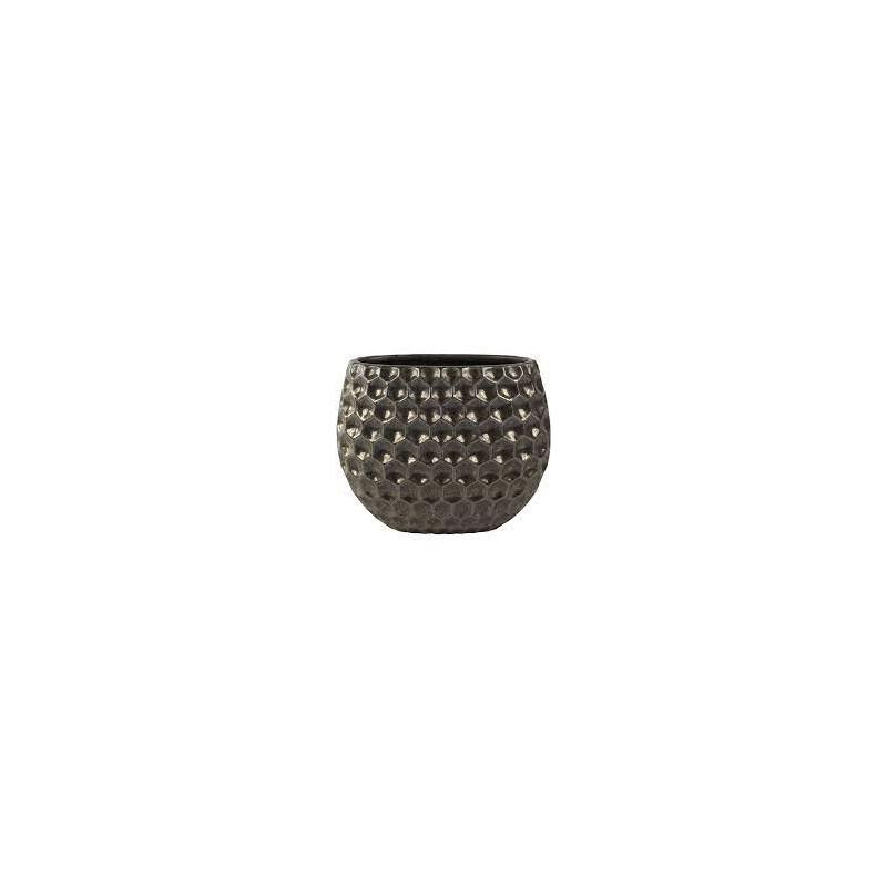 Indoor Pottery Planter beau bronze 29x16x23 cm