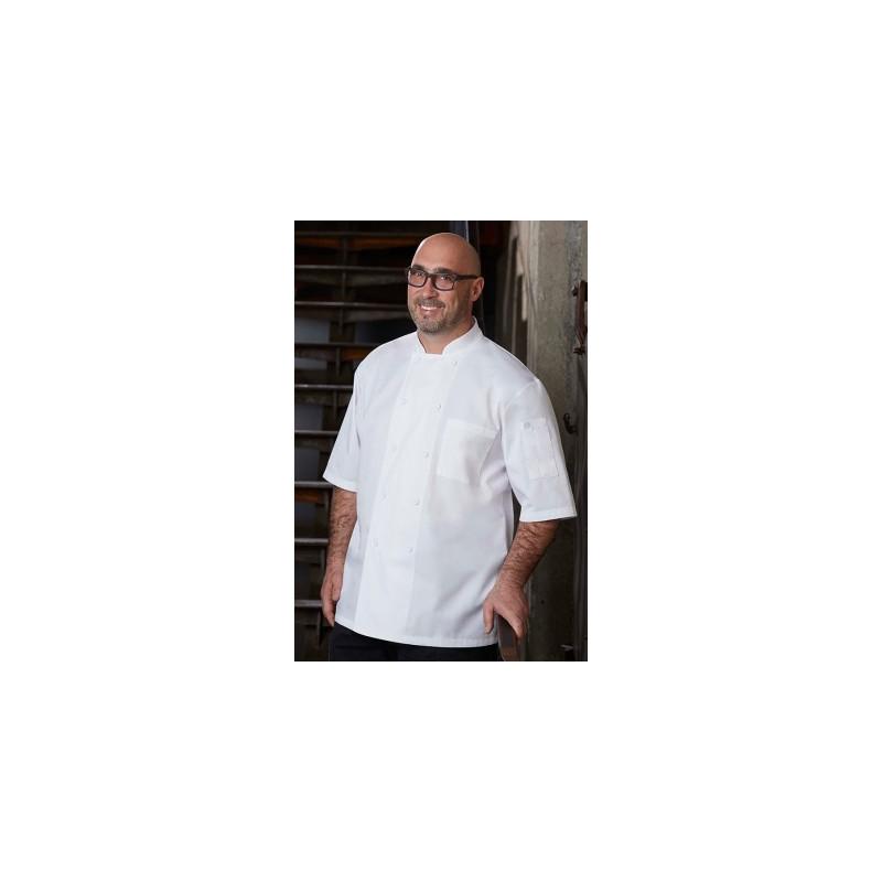 JLCV, pracovný čašnícky rondón čierny/biely