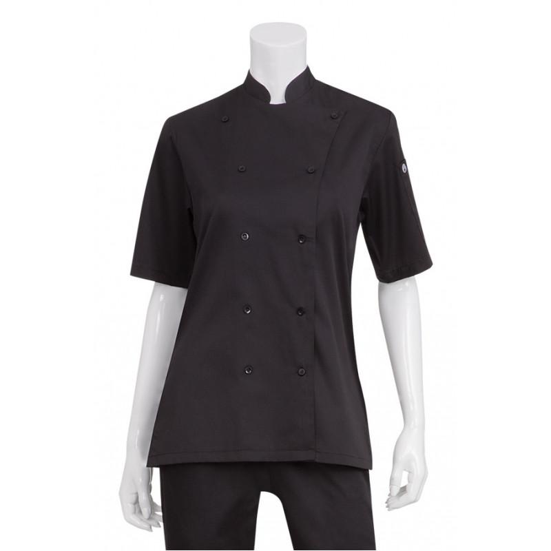 KL150 Dámsky pracovný rondon - čierny