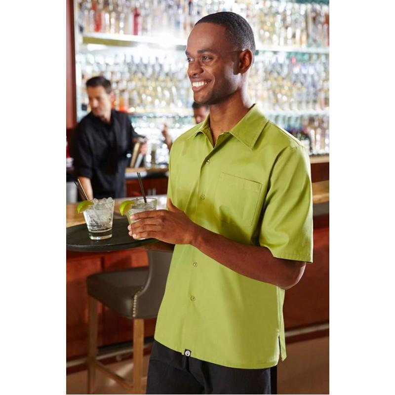 Košeľa pre čašníkov do kaviarne UNISEX - 6 farieb