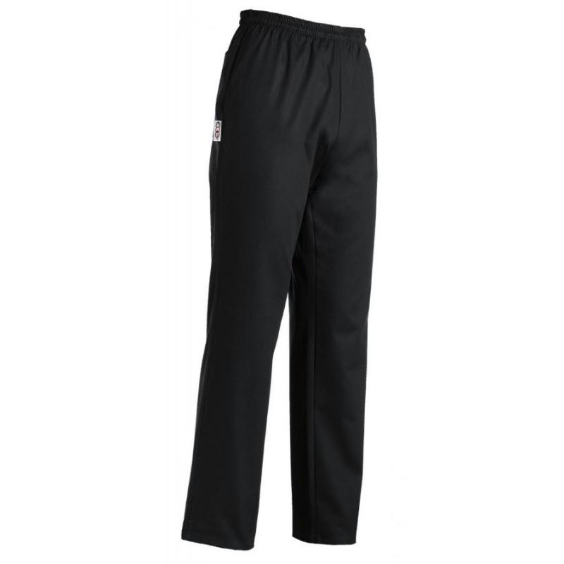 Kuchárske nohavice čierne