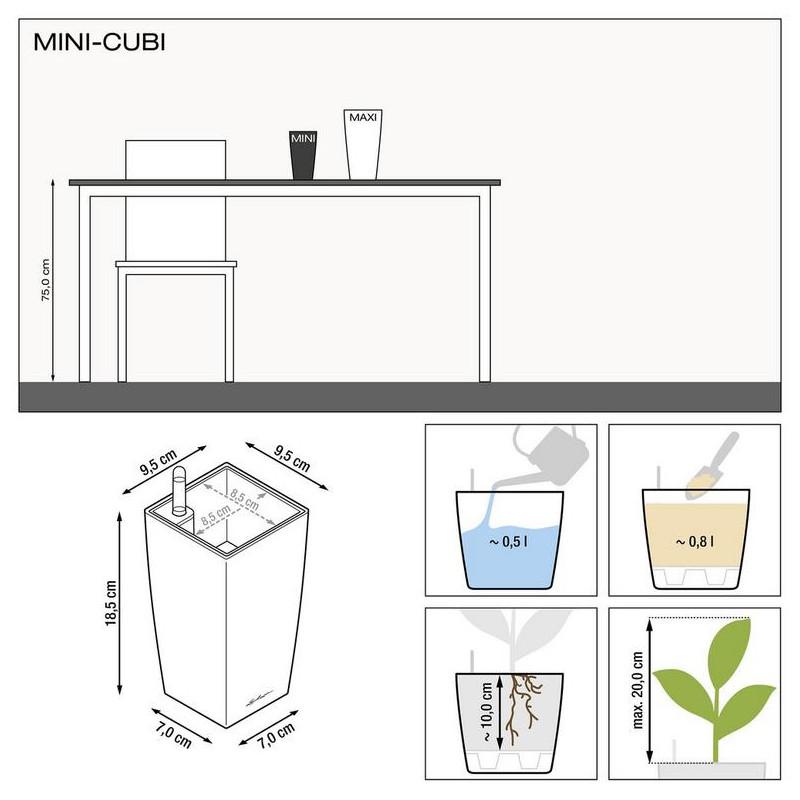 Mini Cubi 9/18 taupe komplet - DOPREDAJ