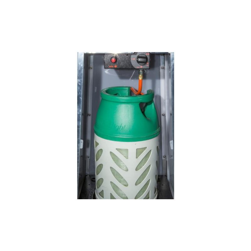 Ohrievač plynový PREMIUM- pyramída 420 x 420 x 2220 mm