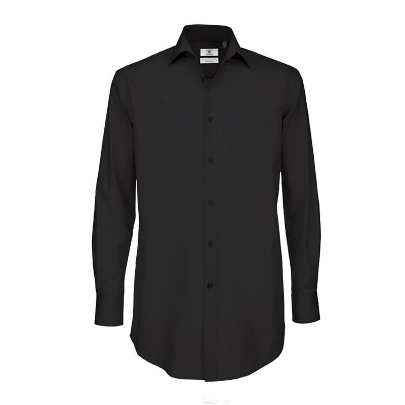 Pánská číšnická košile dlouhý rukáv - 4 barvy