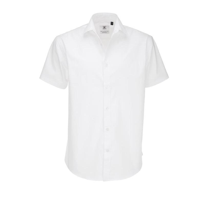 Pánska čašnícka košeľa krátky rukáv - 4 farby
