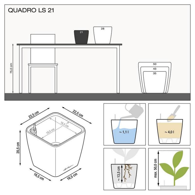 Quadro LS 21/20 all inclusive set white