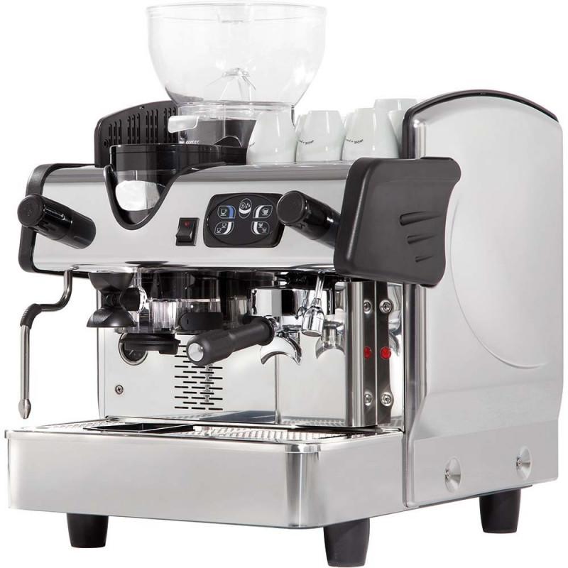 Kávovar poloautomatický jednopákový s mlynčekom