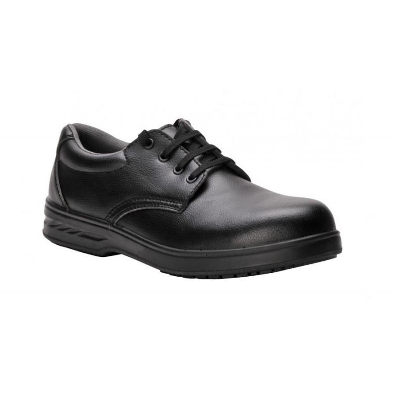 Steel ™ bezpečnostní kuchařská obuv s tkaničkami