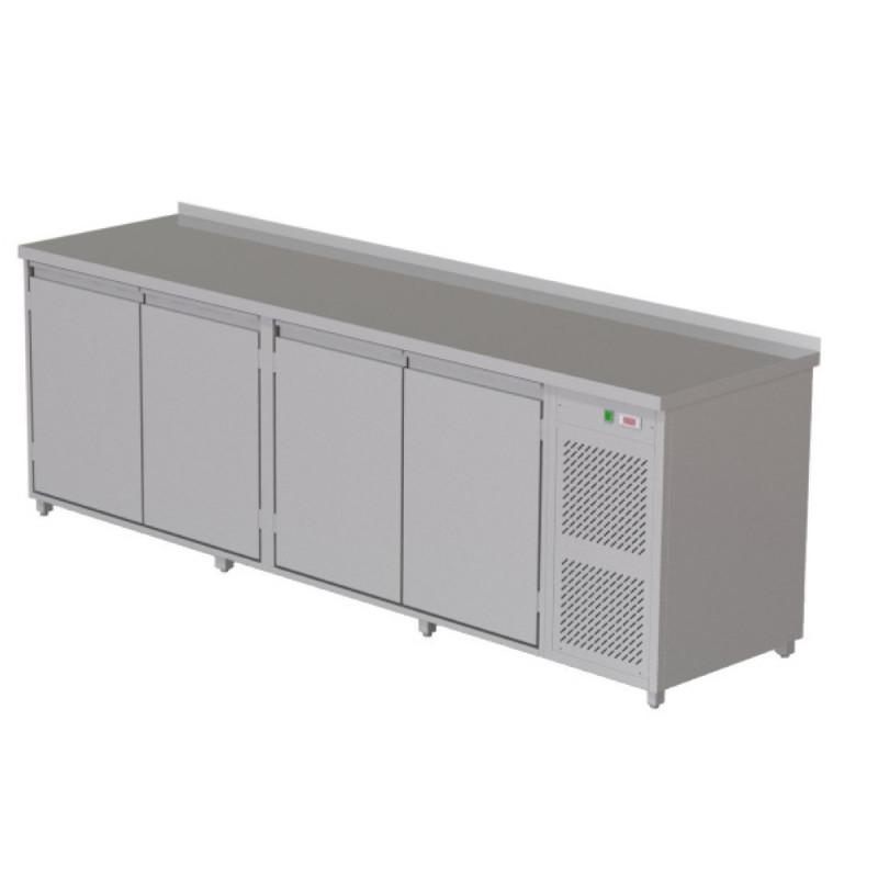 4-dverový chladiaci stôl na nápoje - 960 l