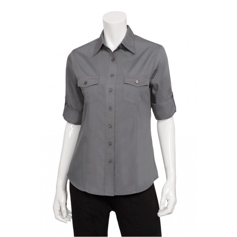 Dámska čašnícka košeľa - 2 farby