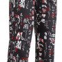 Kuchárske nohavice Japonské znaky, 100% bavlna